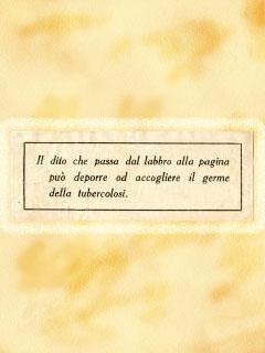 Pecetta - Biblioteca Circolante del Circolo Filologico Milanese, 1923